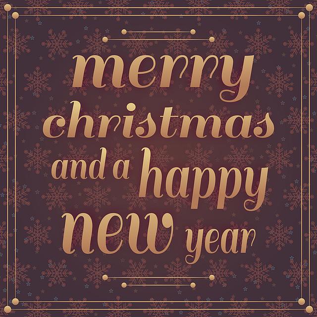 Auguri di un sereno Natale e felice anno nuovo!